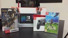 Ya SN tiene su Nintendo Switch esperen nuestras impresiones y review del juego  #zeldabreathofthewild #nintendo #zelda #nintendoswitch
