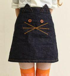 KCW: Cats meow skirt