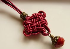 Chinese knot braid p