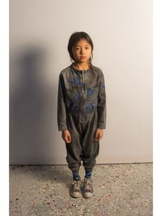 Bobo Choses AW14 BIRDS OVERALL