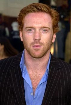Damien Lewis... Nothing sexier than a ginger beard!