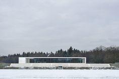 Arhitektura Krušec, Miran Kambic · NZS Headquarters and VIP Lounge