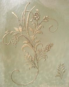Stencil, Plaster Stencil Large Fleurs D' Amour Stencil Wall Stencil, Stencils Plaster Art, Plaster Molds, Stencil Painting On Walls, Faux Painting, Tole Painting, Stenciling Walls, Emboss Painting, Floor Stencil, Wallpaper Fofos