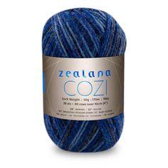 Colour Cozi Deep Water, Artisan Sock weight, Artisan Cozi, Zealana Cozi Deep Water, Zealana Cozi, Deep Water CP08, Zealana Deep Water, Knitting Yarn, Knitting Wool, Crochet Yarn