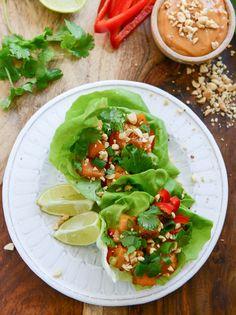 Thai Butternut Squash Lettuce Wraps   31 Delicious New Ways To Cook Butternut Squash
