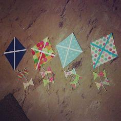 RA Nation - totesmergoats:   Kite door decs for the fall =)...