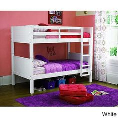 Convertible Twin Bunk Bed | Overstock™ Shopping - Great Deals on dorel asia Kids' Beds