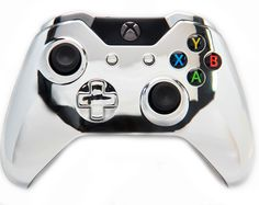"This is our Premium ""Chrome"" Xbox One Modded Controller. It is a perfect gift for a special gamer in your life. Order yours today at: http://moddedzone.com/ You can also visit our eBay store at: http://stores.ebay.com/moddedzone"