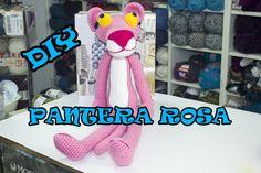 pantera rosa Amigurumi (tutorial schema)/How to crochet pink panther Amigurumi -… - Decor Tips 2019 Crochet Fox, Crochet For Boys, Crochet Patterns Amigurumi, Diy Crochet, Crochet Dolls, Youtube Dolls, Rosa Panther, Pink Panter, Bird Free