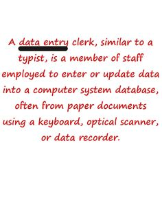 definition of data entry #dataentryjobs