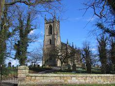 St. Mary's Church, Birdsall, North Yorkshire.