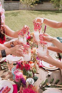 A Coachella-Inspired Bachelorette Party - Bachelorette Party Themes, Destinations & Game Ideas Classy Bachelorette Party, Bachelorette Party Planning, Bachlorette Party, Bachelorette Party Decorations, Coachella Party Decorations, Coachella Party Theme, Bachelorette Weekend, Party Prizes, Palm Springs