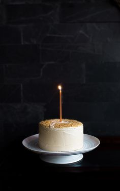 Toffee Cake with Toffee Buttercream