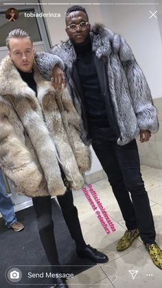 Mens Fur, Furs, Dark Skin, Fur Coat, Lovers, Nice, How To Wear, Jackets, Jewelry
