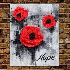 Hope Mixed Media Canvas