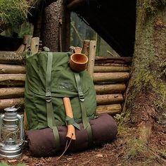 The swedish Lk35 stuffed with my pieces for a night at the shelter! - and a huge…