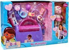 Amazon.com: Disney Doc Mcstuffins Doctors Bag with Bonus Lambie Doll: Toys & Games