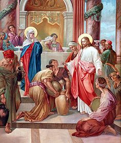The Wedding At Cana Is First Miracle And It Shown