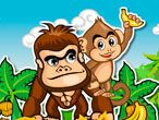 Many people believe that the king of the jungle is a lion, but they probably have not heard about Gon and Mon yet, the spectacular monkey duo that dares Walk On Water, Monkey Business, Fun Games, Bowser, Purses And Bags, Dares, Bananas, Adventure, Lion