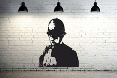 Manufacturers of high quality vinyl wall decals for your Home or Business needs. Decal Wall Art, Banksy, Art