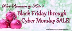 Get the perfect gift for yourself or your partner up to 75% off at Pure Romance by Kate's Black Friday to Cyber Monday sale!