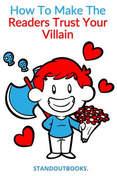 Hide your villain behind your reader's assumptions and expectations. https://www.standoutbooks.com/reader-trust-villain/?utm_campaign=coschedule&utm_source=pinterest&utm_medium=Standoutbooks&utm_content=How%20To%20Make%20The%20Reader%20Trust%20Your%20Villain #amwriting #forauthors #writetip