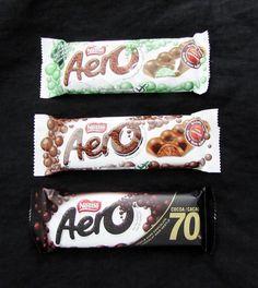 36 Nestle Aero Chocolate Bars 12 Aero Mint 12 Original Aero 12 Aero Dark #Nestle Aero Chocolate, Cocoa, Sweet Treats, Mint, Candy, Country, Dark, Sweets, Rural Area