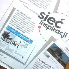 Na rower z głową... AktywnySmyk w miesięczniku Dziecko #dziecko #aktywnysmyk #parenting #rower #glowa Instagram Posts
