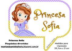 Montando minha festa: Princesa Sofia Disney