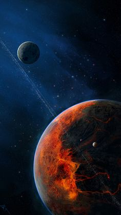 Pin by Iyan Sofyan on Space & Astronaut Pictures in 2019 Space Phone Wallpaper, Outer Space Wallpaper, Planets Wallpaper, Galaxy Wallpaper, Wallpaper Earth, Space Planets, Space And Astronomy, Astronomy Crafts, Astronomy Tattoo