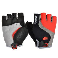 #ShipFromUsa #BestPrice #Fashion FIRELION Power + Gel Foam Fingerless Cycling Gloves MTB Mountain Bike Gloves Half Finger Downhill Bike…