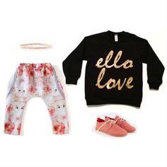 Black Ello Love Sweatshirt!