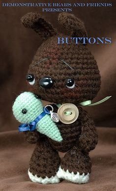 ~Buttons~ by cindysickler, via Flickr  inspiration. i love how his eyes are done.