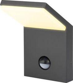 Buiten LED-wandlamp met bewegingsmelder 9.5 W Renkforce Bilbao 1406152