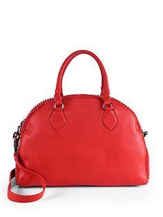 Christian Louboutin Studded Bowler Bag