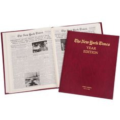 For the historian or anyone who likes keeping up with the times, give a unique and treasured keepsake to bring special meaning to his birthday, anniversary, or a special day from his past: a complete reproduction of the entire New York Times edition from any date between 1880 and 2000. Prices vary