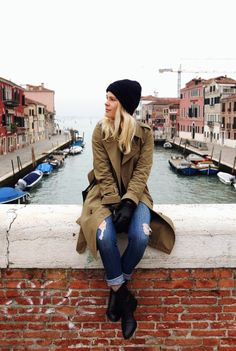 Wearing A.P.C. and Alexander Wang in Venice