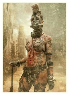 Post Apocalyptic Wasteland Beauty