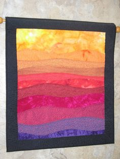 Rolling Hills Landscape No. 1 by Debbie Stanton