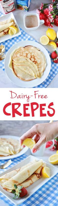Dairy Free Crepes #ad