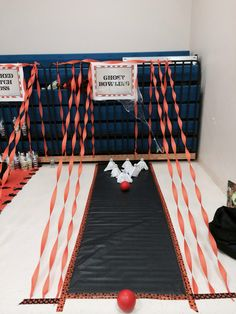 Fall carnival booth for school