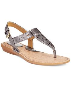 b.o.c Charel Thong Sandals synthetic pewter .75h sz7 39.99 Sale thru 5/31 (22.50)
