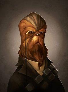Star Wars Victorian Art Prints Pictures | POPSUGAR Tech