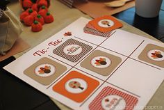 Tic-Tac-Turkey Thanksgiving Game! LOVE it! via @Anna Totten Totten Totten Totten and blue paperie