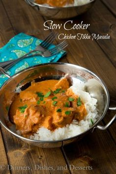 Slow Cooker Tikka Masala   Dinners, Dishes, and Desserts
