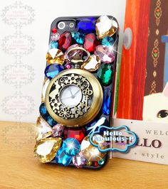 Bling iPhone 5 Case Stunning Crystal Rhinestone Cover