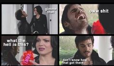 Okay I am a Swanfire shipper myself, but that is pretty darn funny right there.