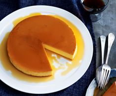 This family-sized creme caramel recipe is served in a large pan rather than individual pots so you can scoop out as much as you need. No Cook Desserts, Just Desserts, My Favorite Food, Favorite Recipes, Creme Caramel, Caramel Recipes, Gluten Free Treats, Sweet Recipes, French Recipes