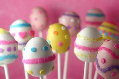 VCTRY's BLOG: Chupetines de torta en forma de huevo de Pascua