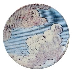 Plate- John Derian Company Inc — Clouds Plate- Another beautiful piece of tableware...